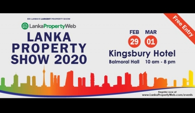 Lanka Property Show 2020; Set and Ready to Wow Colombo with All Property Solutions Under One Roof