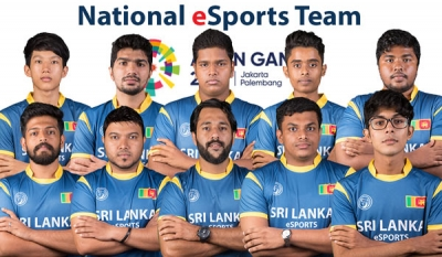 National eSports team sponsored by Dialog Gaming to represent Sri Lanka at Asian Games 2018