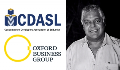 Oxford Business Group quizzes CDASL Chairman Pradeep Moraes on Sri Lanka's property sector
