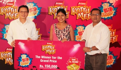 "The cricket fun continues with Prima KottuMee ""Hot n Spicy Kricket"""