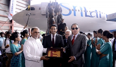 SriLankan Airlines takes Delivery of New A330-300