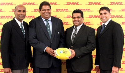 DHL Sri Lanka to deliver Rugby World Cup 2015 dream to a local child