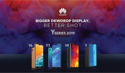 All New Huawei Y 2019 Series to Enter SriLanka