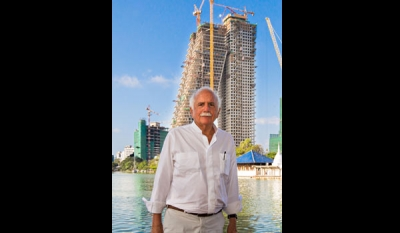 Altair architect Moshe Safdie named Laureate of 2019 Wolf Prize in Architecture
