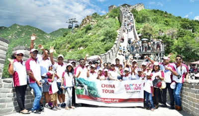 Ceylinco Life policyholder families on 4-day tour of China