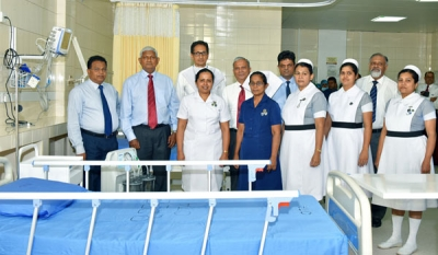 Ceylinco Life gifts 4-bed High Dependency Unit to Kandy Teaching Hospital