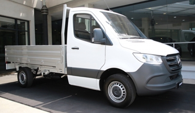 DIMO delivers first all-new Mercedes-Benz Sprinter Single Cab