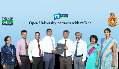 Mobitel's mCash partners with The Open University of Sri Lanka for convenient student payments