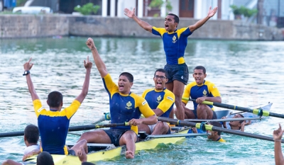 50th Royal Thomian Regatta to be propelled at the Beira