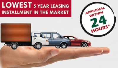 Amãna Bank offers the lowest five years Leasing rental this month