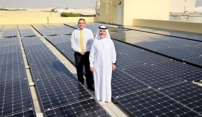 Emirates Flight Catering announces major investment in solar energy; cuts carbon emissions from electrical consumption by 15%