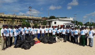 Tokyo Cement, MEPA attracts like-minded volunteers for Trinco Beaches cleanup