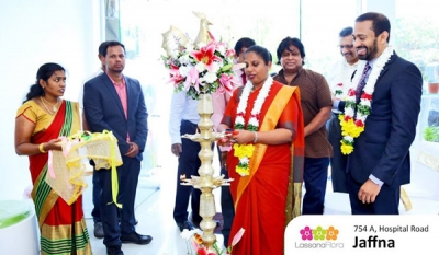 Lassana Flora opens in Jaffna! ( 07 photos )