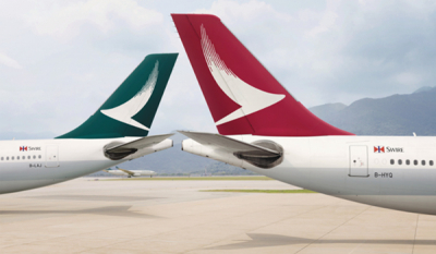 Cathay Pacific to reduce passenger capacity by 96% in April and May