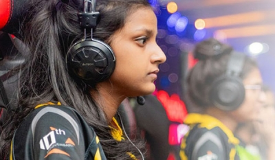 eSports women's cyber games powered by SLT Fibre