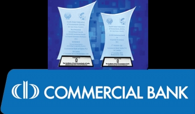 Commercial Bank's Annual Report Best among private banks in South Asia