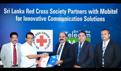 Sri Lanka Red Cross Society Partners with Mobitel for reliable communication solutions